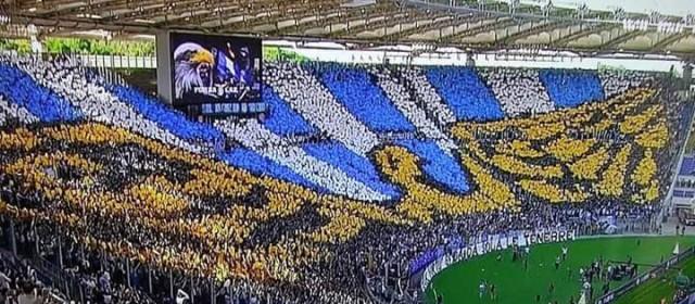 La lettera della nord ai calciatori della Lazio