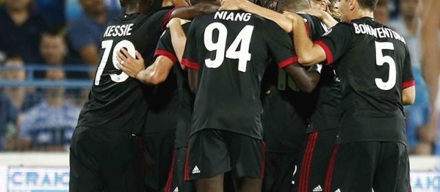 Europa League, Milan batte Craiova grazie a Rodriguez