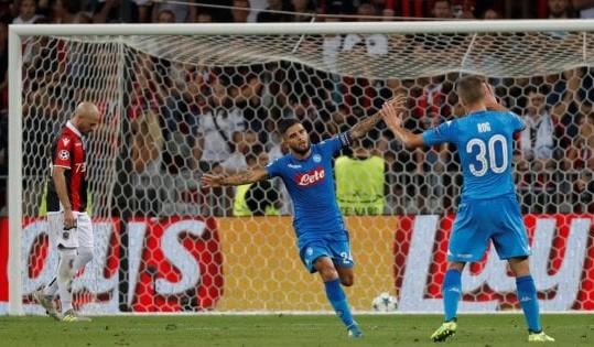 Nizza – Napoli, azzurri in Champions