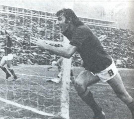 23 marzo 1975, Pierino decide il Derby…