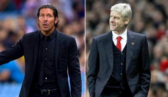 Presentazione Arsenal vs Atletico, filosofie a confronto
