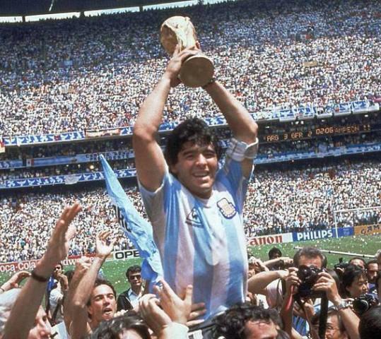 "Città del Messico 1986: Maradona, ""El Barrilete Cosmico"""