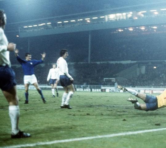 Italia, la prima volta a Wembley…