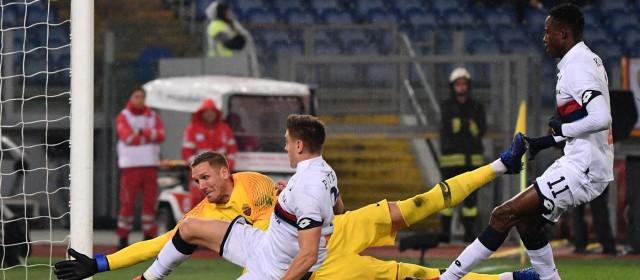 Genoa distratto e sfortunato, sconfitta con ingiustizia finale.
