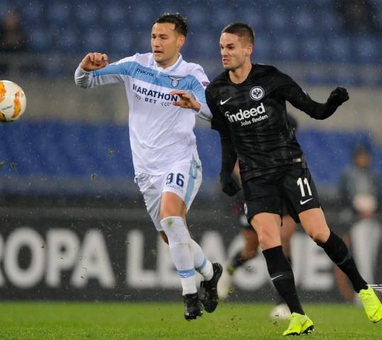 Lazio, sconfitta senza drammi con l'Eintracht