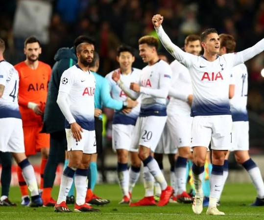 Tottenham, Gente di Champions
