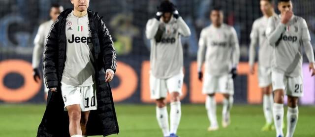 Juve, addio Coppa Italia