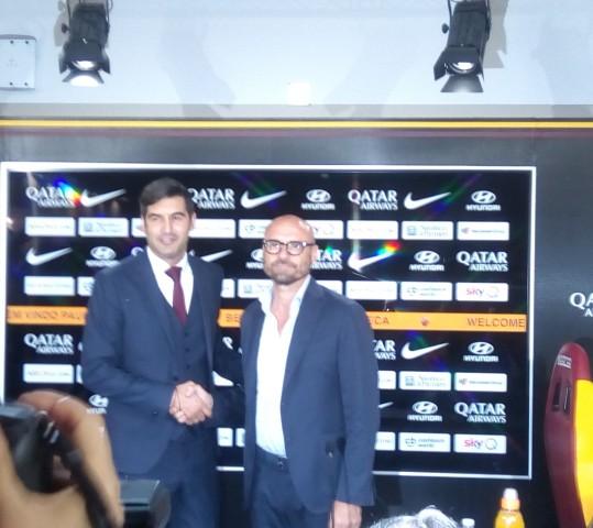 """Fonseca a Trigoria: """"Nessuna paura. Voglio una squadra coraggiosa"""""""