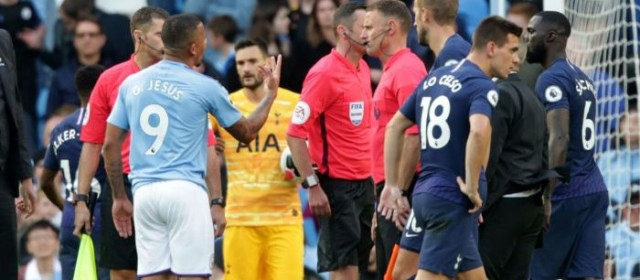 Manchester City-Tottenham è 2-2, decide ancora il Var