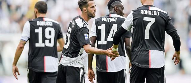 La Juve tiene il passo dell'Inter