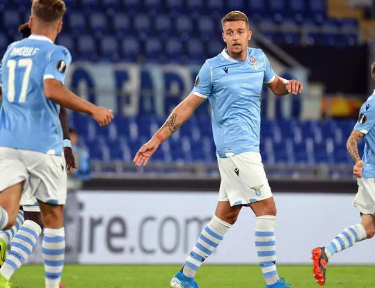 Lazio, col Rennes un'ora di nulla, poi Milinkovic