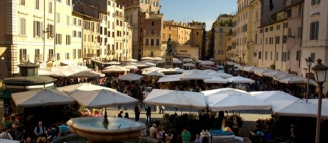 Roma: riapre il mercato rionale