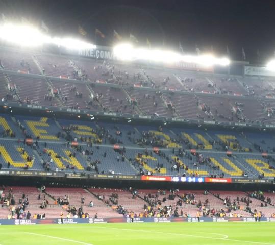 Metti una domenica sera al Camp Nou…